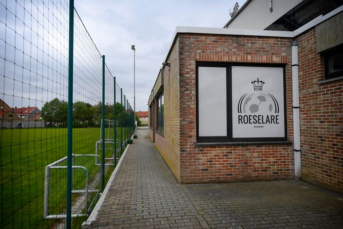 Voetbalclub KSV Roeselare ging halfweg september failliet.