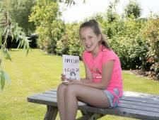 Tienjarige Fee geeft boek uit over meisje dat konijn wordt