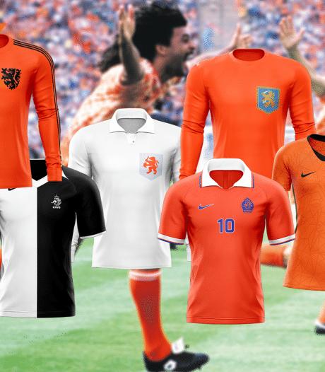 Stem nu op het mooiste shirt van Oranje