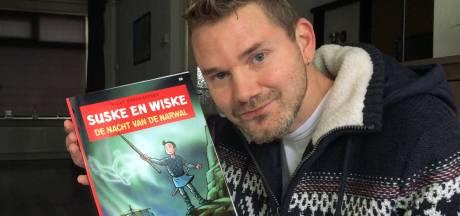 Thijs uit Hengelo maakte de tekeningen voor de nieuwe Suske en Wiske