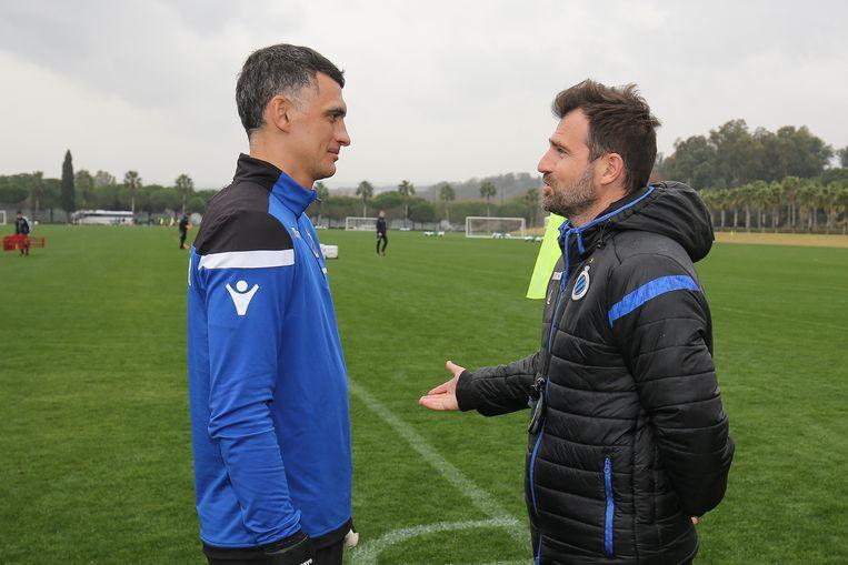 Leko kan vanavond nog geen beroep doen op Vladimir Gaboluv, de doelman die Club tijdens de winterstop naar België haalde.