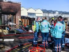 Experts politie nog bezig met onderzoek naar dode bij brand in Boskoopse schuur