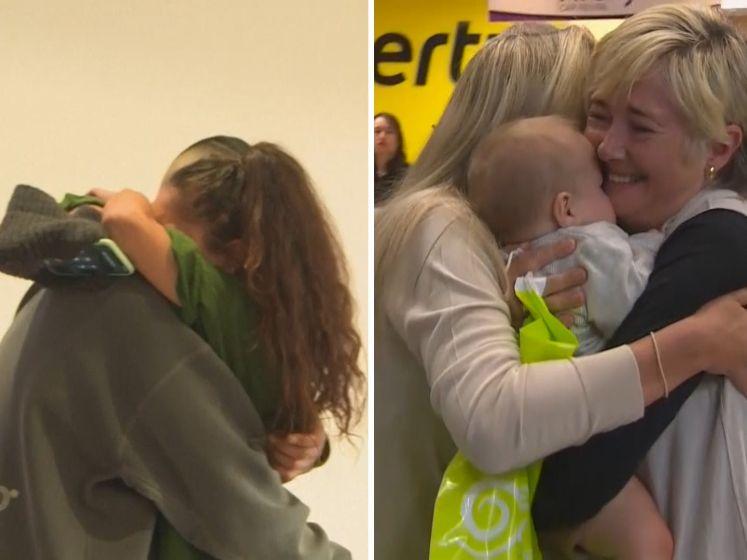 Emotionele taferelen na vrijgeven reizen tussen Australië en Nieuw-Zeeland