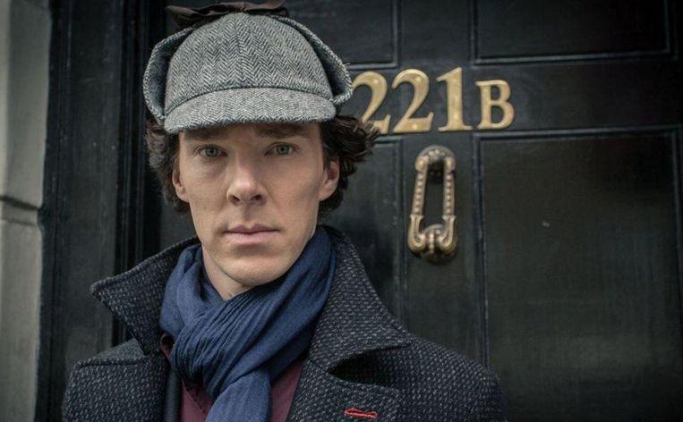 Benedict Cumberbatch als Sherlock Holmes in 'Sherlock'