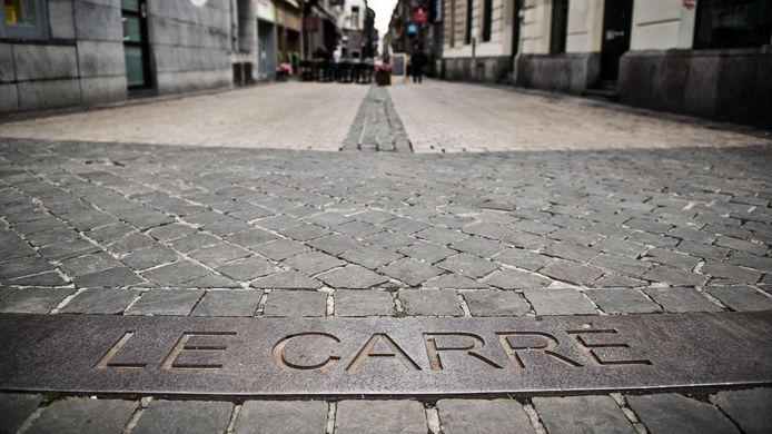 Entrée du Carré à Liège.
