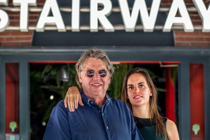 Henk Westbroek en zijn dochter Chrissie