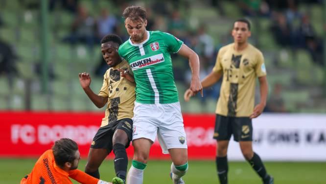 FC Dordrecht speelt gelijk (2-2) tegen Jong FC Utrecht en behoudt ongeslagen status