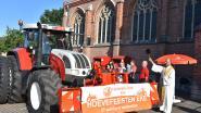 Jaarlijkse Hoevefeesten met tractorwijding