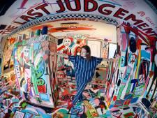 Rob Kaspers uit Oldenzaal wil via huurhuis zijn kunst de wereld inpompen