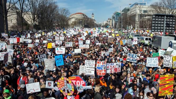 Vredesprijs voor Amerikaanse 'March for Our Lives' tegen vuurwapengeweld