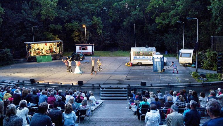 Much ado About Nothing in het Amsterdamse Bos. Beeld Io Cooman