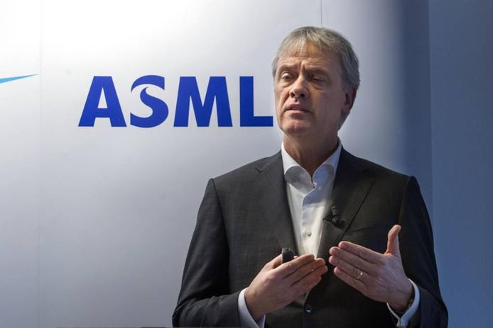 Bestuursvoorzitter Peter Wennink van ASML. foto René Manders