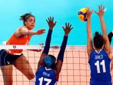 Volleybalsters gaan voor brons na verlies halve finale EK: 'Trots dat we hebben gevochten'