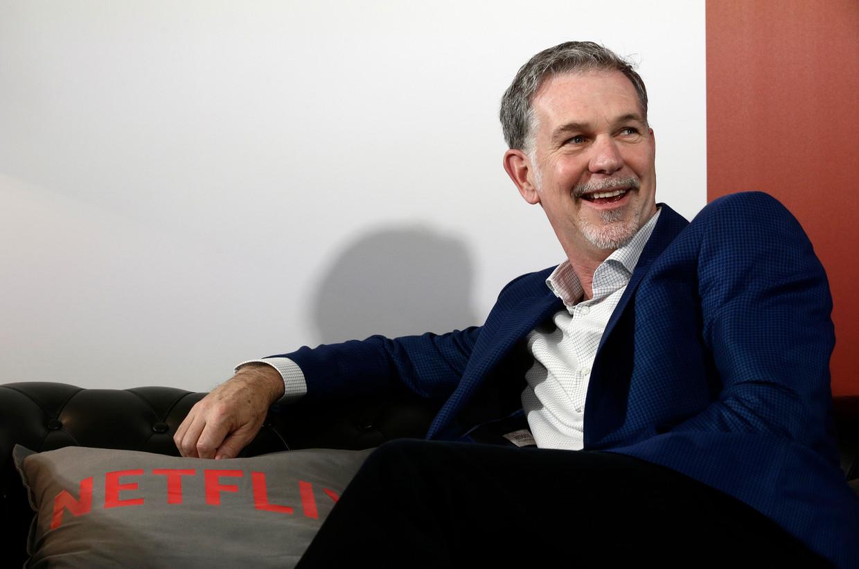 Reed Hastings in een gesprek met 'Het Laatste Nieuws': ''s Nachts lig ik wakker van de toekomst van Netflix. We moeten voortdurend strijden om de beste films en de beste series in huis te hebben, zodat mensen voor ons blijven kiezen. Dat is zwaar.'