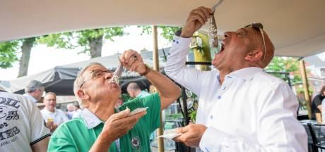 Happen in de haring voor het goede doel in Wierden