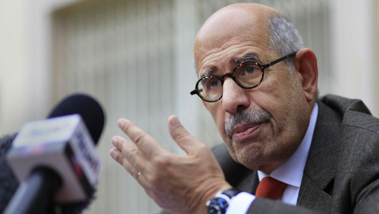 Mohammed ElBaradei. Beeld AP
