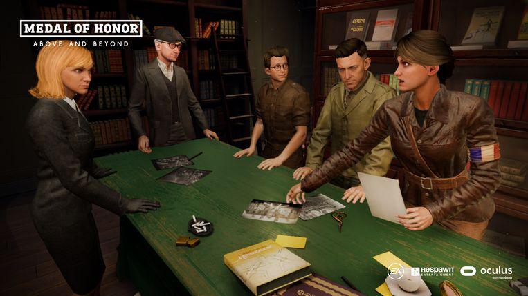 Het verhaal van de game heeft eerder een actiefilmvibe, zoals in 'The Dirty Dozen'. Beeld Electronic Arts
