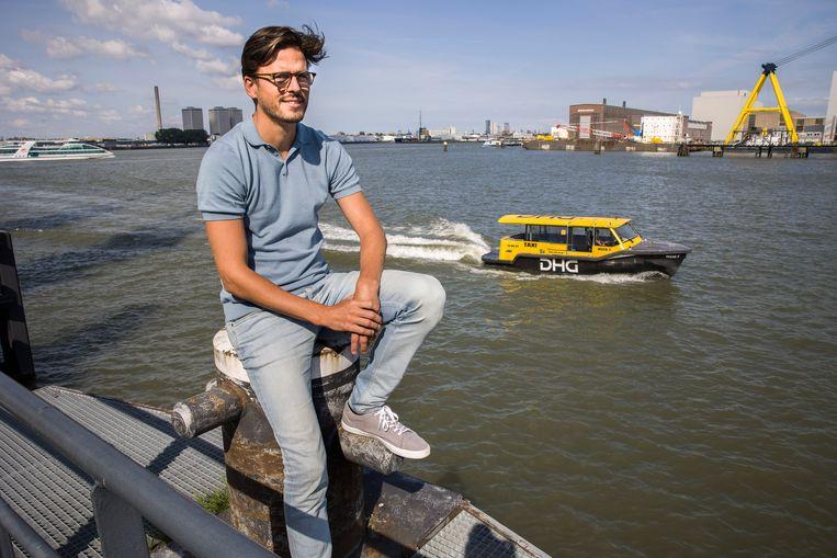 Captain AI heeft bij investeerders een miljoen euro opgehaald, zegt  CEO Vincent Wegener. Beeld Arie Kievit