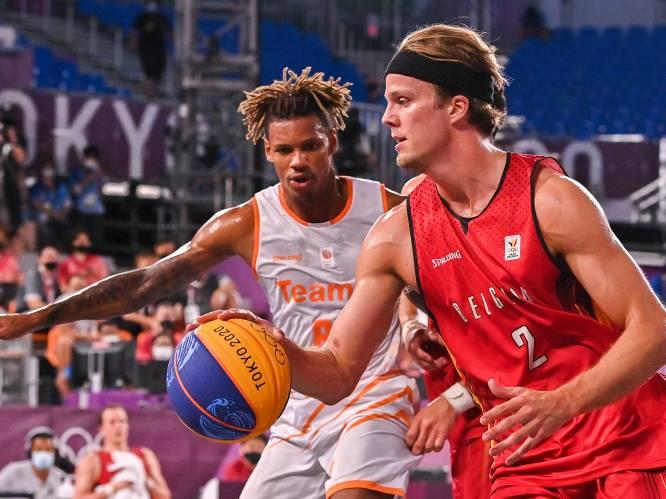"""3x3 Belgian Lions charmeren, zelfs NBA-ster vindt het cool om hen te zien spelen: """"Dat we diep gaan? Na 45 seconden wil elke speler al gewisseld worden"""""""