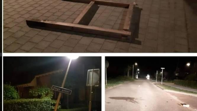 Vernielingen in Klein-Zundert, 'kan iemand mij vertellen wat de lol hiervan is?', aldus de wijkagent