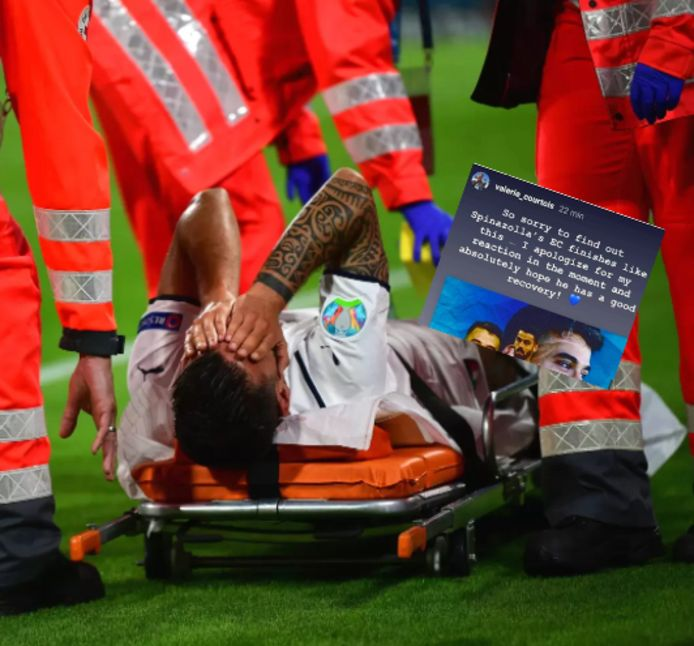 Leonardo Spinazzola souffre d'une rupture du tendon d'Achille, qui devrait le tenir écarté des terrains pendant au moins cinq ou six mois.