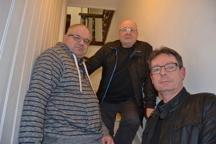 Dirk Bergen, Daniël B en Erwin Jadot, de oprichters van Front 242