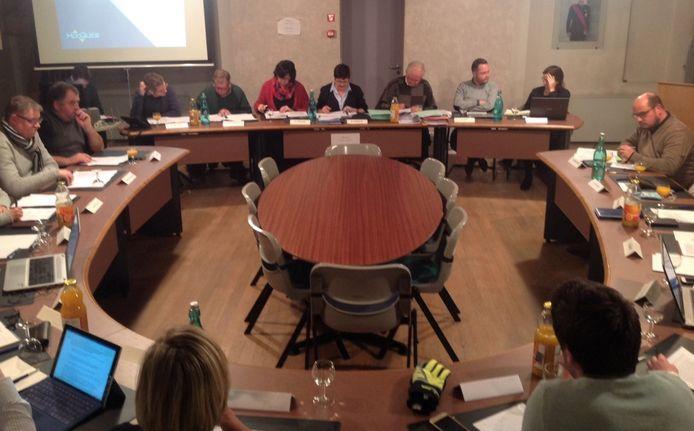De gemeenteraad van Hooglede
