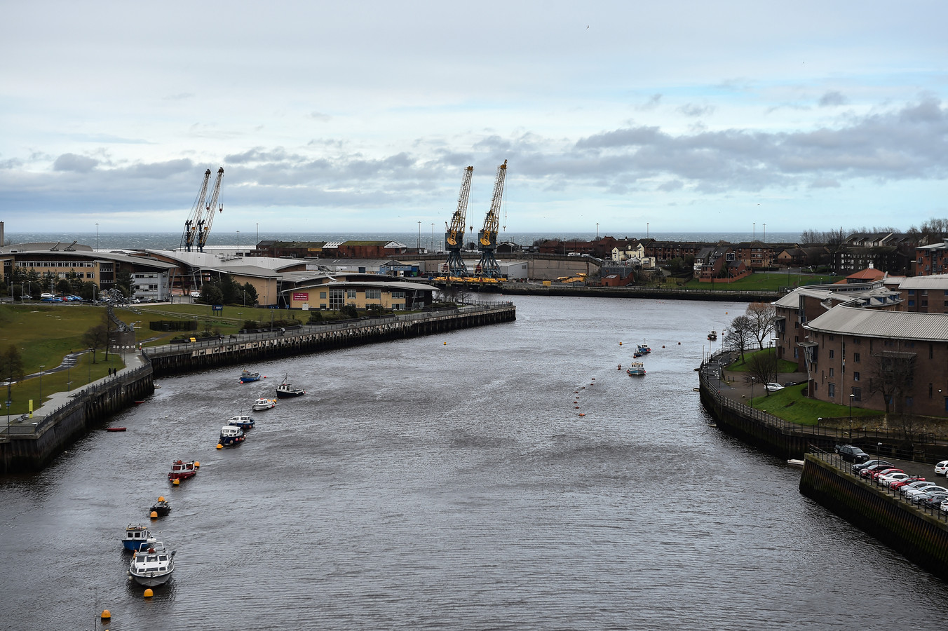 Sunderland in het noordoosten van het Verenigd Koninkrijk, wil een van de tien vrijhavens worden.