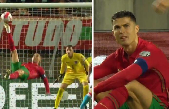 Cristiano Ronaldo pensait avoir inscrit un but d'anthologie