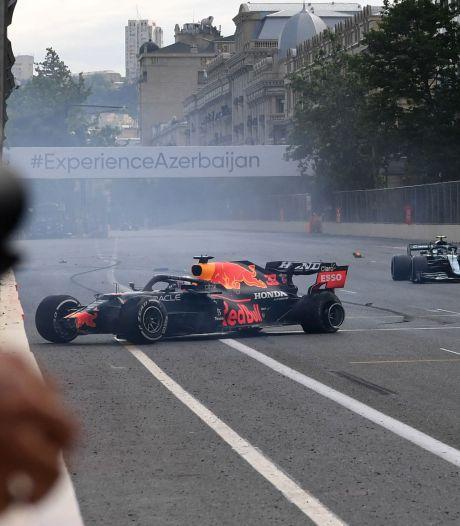 Crash de Verstappen, erreur d'Hamilton et victoire de Perez: un GP d'Azerbaïdjan à rebondissements