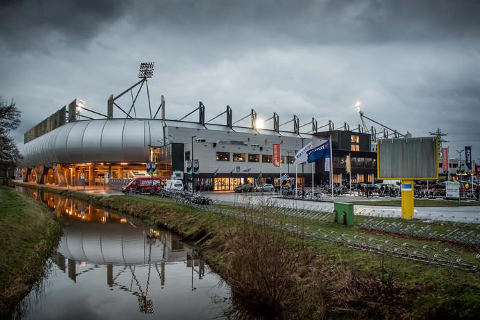 Het Polman Stadion van de buitenkant