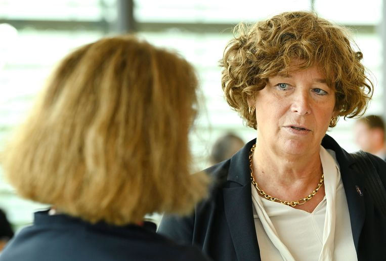 Groen-vicepremier Petra De Sutter: