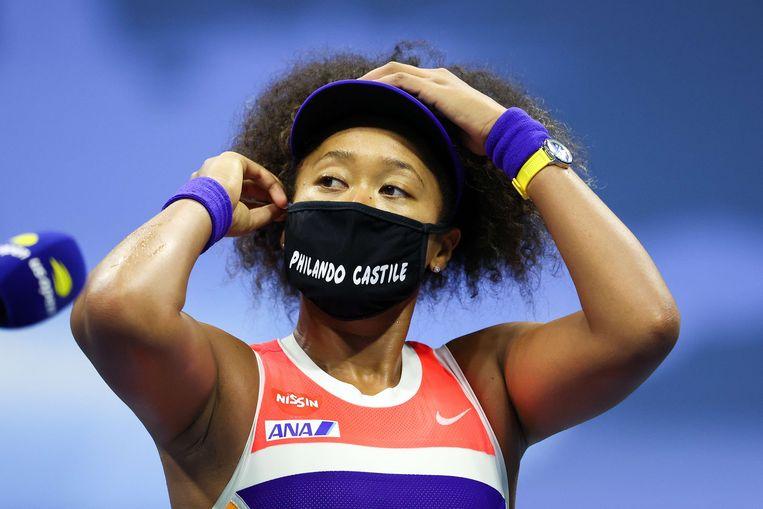 De Japanse tennisster Naomi Osaka Beeld AFP
