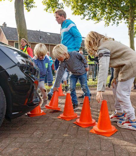 Zwolle-Zuid is klaar met hardrijders: remdemonstratie laat zien hoe het mis kan gaan