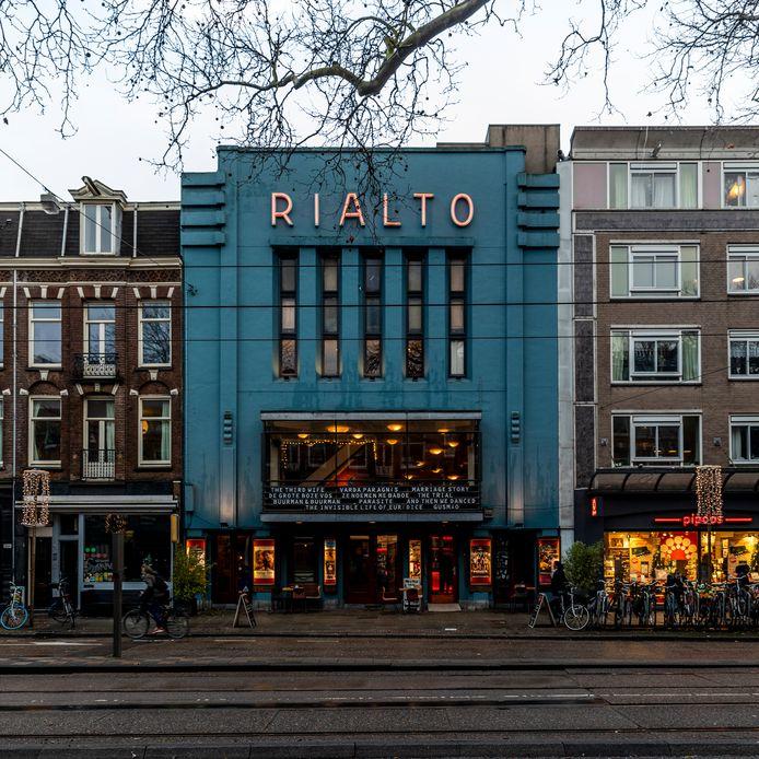 Filmtheater Rialto aan de Ceintuurbaan.
