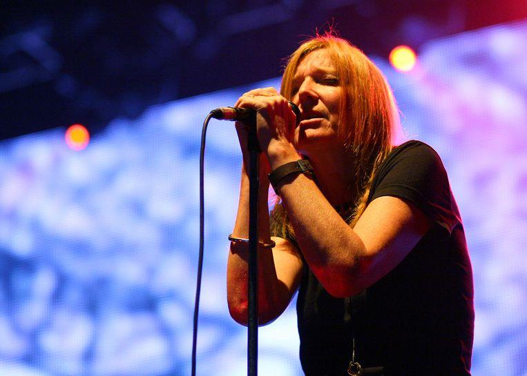 Beth Gibbons is het kloppende hart van de band. Het emotionele bereik van haar zangpartijen is ongehoord. Beeld IMAGEGLOBE