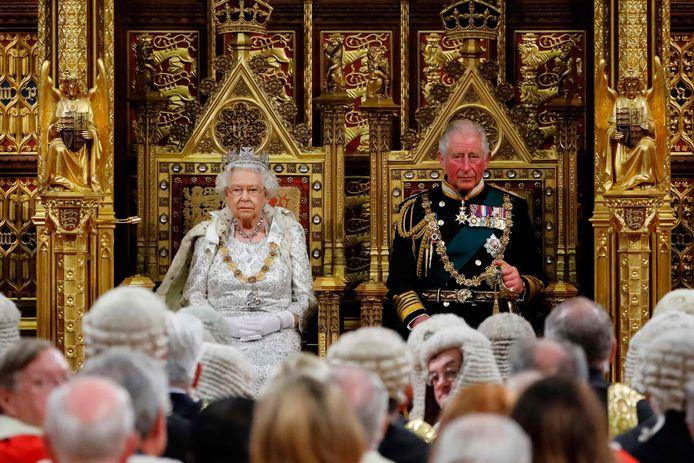 De laatste keer dat de opening van het Britse parlementaire jaar plaatsvond was in 2019.