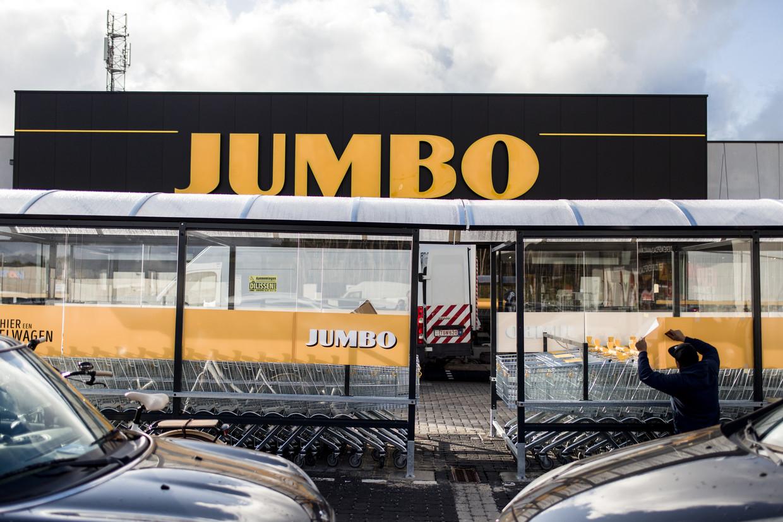 De eerste winkel van Jumbo in België opende in Pelt in november 2019. Beeld Tine Schoemaker