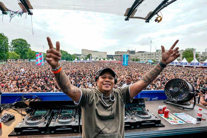DJ Chuckie op Dancetour Breda in 2019.