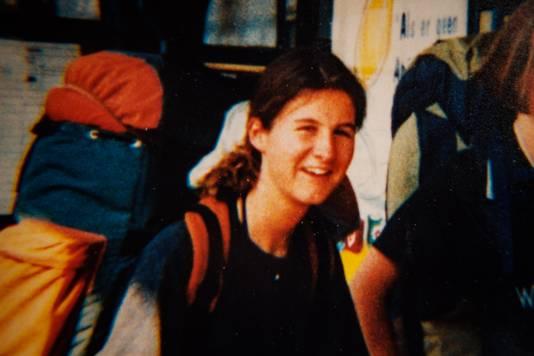La dernière photo d'An prise par ses parents, juste avant son départ pour la mer le 22 août 1995 où elle sera enlevée par Dutroux.