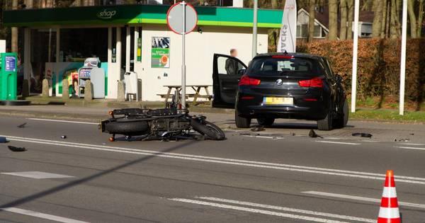 Motorrijder om het leven gekomen bij ongeluk op N458 bij Woerden.