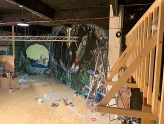 Lokaal voor project The18 Vilvoorde krijgt make-over: kleurrijke graffitikunst siert muren