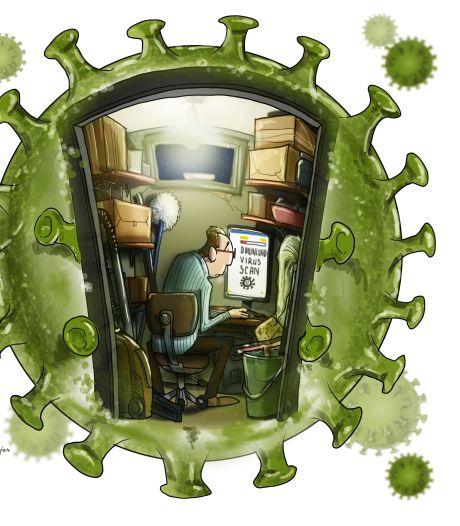 Thuiswerken zonder trammelant: zeven tips om veilig thuis te werken