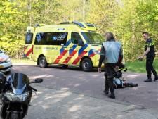 Motorrijder gewond na aanrijding in Beerze