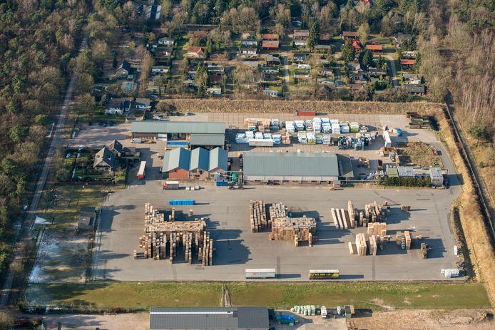 Ermelo - Ten Hove pallet en timmerfabriek.