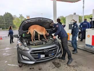 Grootschalige controle-actie van politie en douane op drugstrafieken langs E17