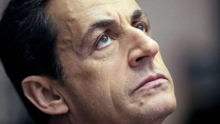 De voormalige Franse president Nicolas Sarkozy. Beeld BELGA