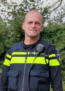Michel Weessies, wijkagent in de gemeente Noordostpolder.