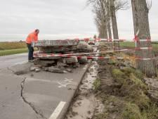 Betonplaten bij Poortvliet gescheurd door droge zomer