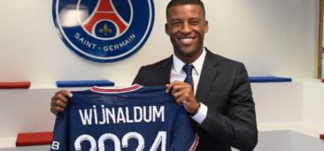 PSG presenteert Wijnaldum: 'Team bouwen dat de Champions League kan winnen'